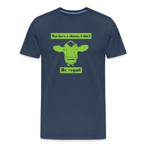 Be Vegan! - Men's Premium T-Shirt