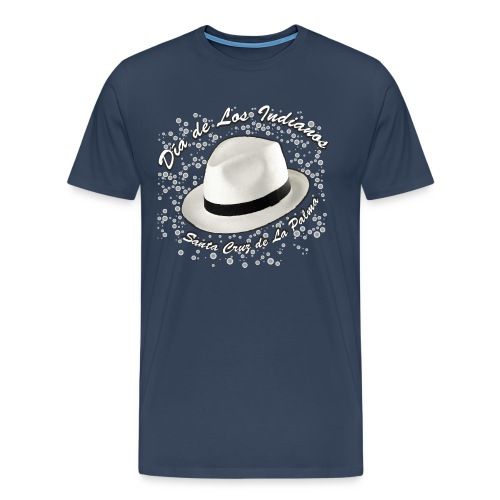 Dia de Los Indianos - Männer Premium T-Shirt