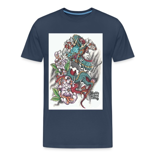The Dragon - Männer Premium T-Shirt