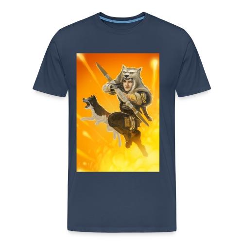 ShadowWolf und Benjin - Männer Premium T-Shirt