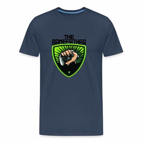 The Gamefather Zocken Gamer Fun Geschenk - Männer Premium T-Shirt