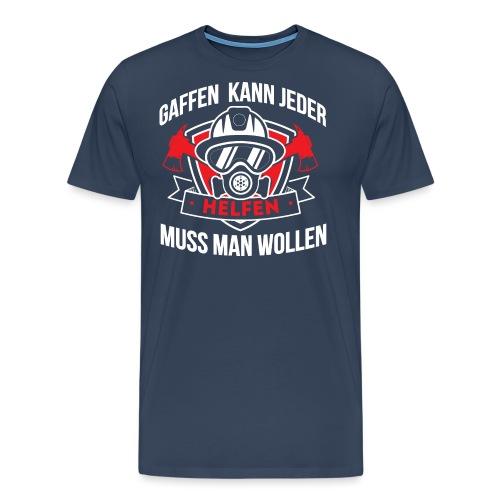 Gaffen Feuerwehr - Männer Premium T-Shirt