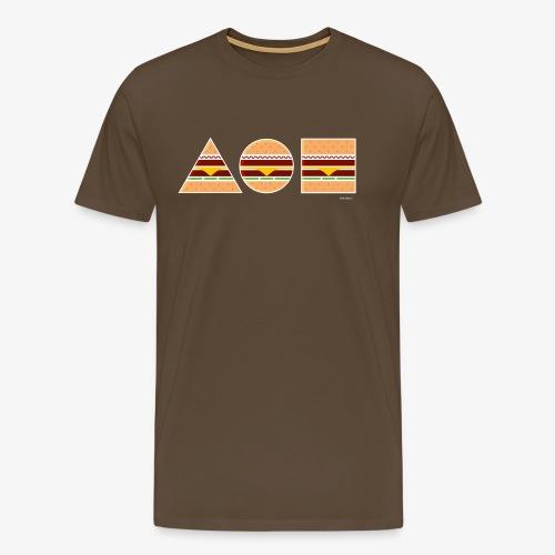 Graphic Burgers - Maglietta Premium da uomo