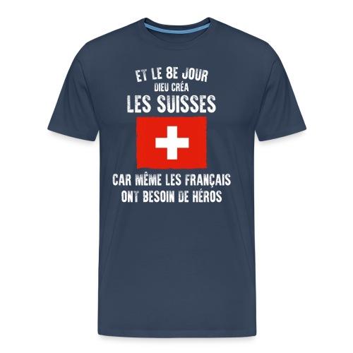 Et le 8ème jour Suisse - T-shirt Premium Homme