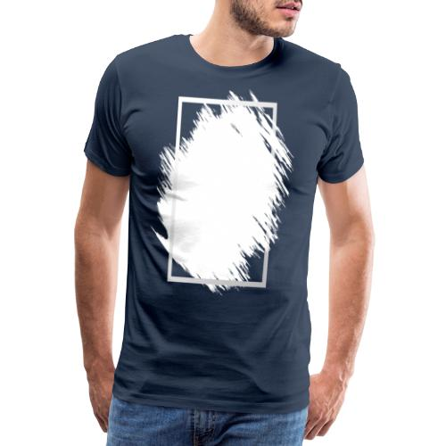 Grunge Rahmen fuer Deine Ideen 2 - Männer Premium T-Shirt
