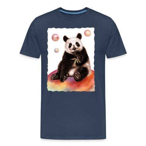 Panda World - Maglietta Premium da uomo