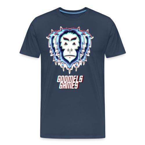 GoomelsGames logo & text teenager t-shirt. - Mannen Premium T-shirt