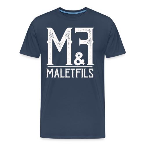 maletfils_logo_type_oldty - T-shirt Premium Homme