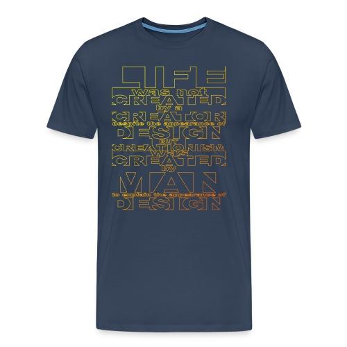 CREATIONISM was CREATED - Men's Premium T-Shirt