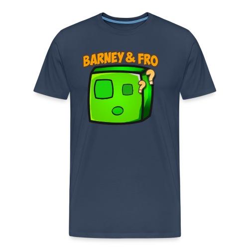 Slime happy Frovirret png - Premium T-skjorte for menn