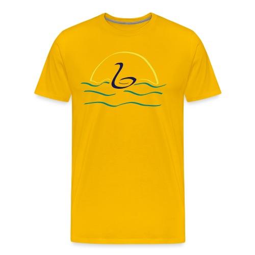 Swan - Mannen Premium T-shirt