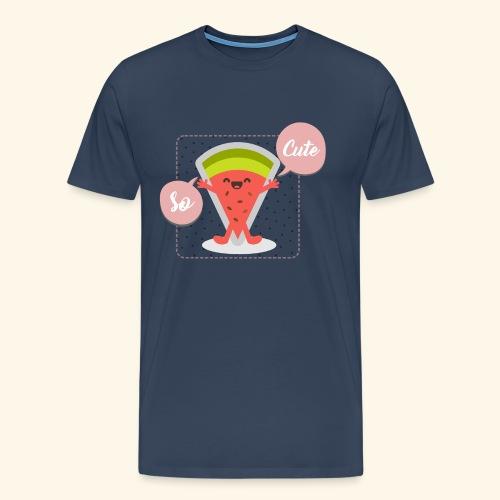 pastèque cute - T-shirt Premium Homme