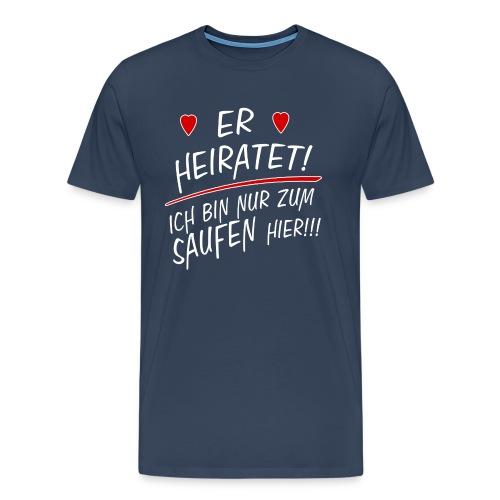 erheiratet png - Männer Premium T-Shirt