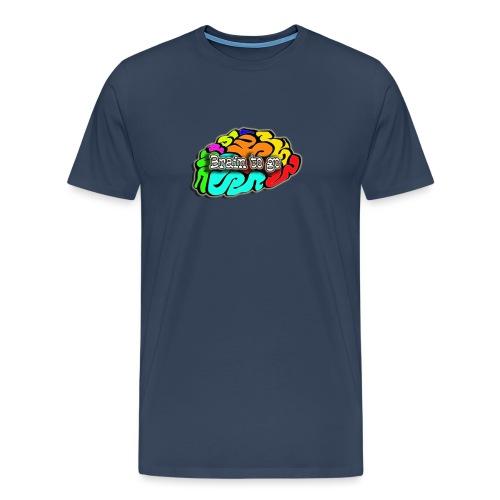 Brain to go - Männer Premium T-Shirt