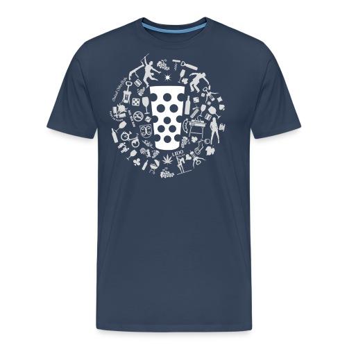 Michl-weiss - Männer Premium T-Shirt