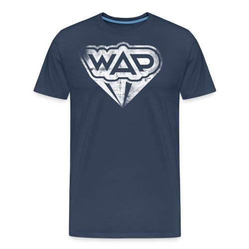 wapgrunge 01 weiss - Männer Premium T-Shirt
