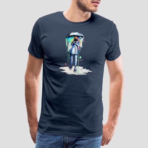 Umbrellagirl - Männer Premium T-Shirt