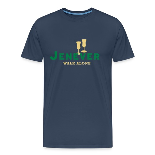 Jenever walk alone - Mannen Premium T-shirt