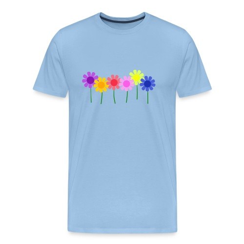 flowers 1 - Men's Premium T-Shirt