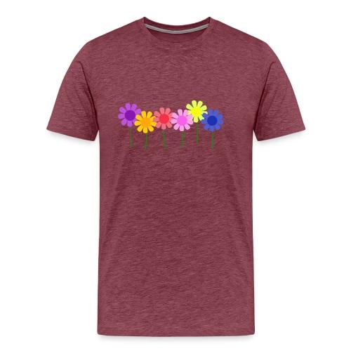 flowers 1 - Men's Premium T-Shirt
