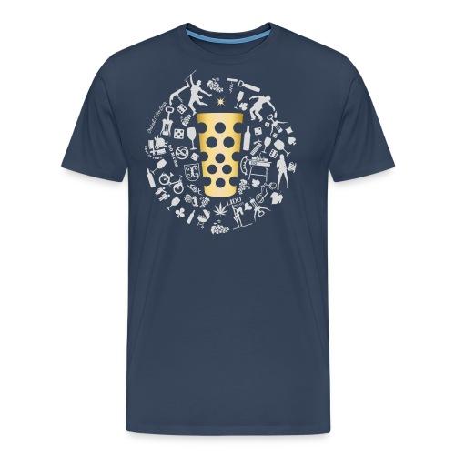 Michl-gold - Männer Premium T-Shirt