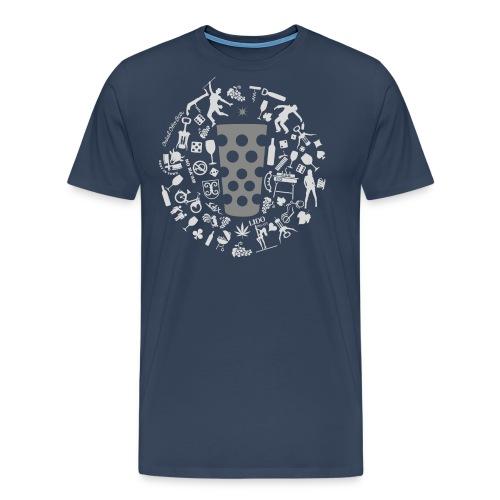 Michl-grau - Männer Premium T-Shirt