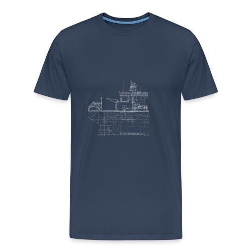 ok mastera side - Miesten premium t-paita