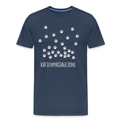 Vorschau: Katzen Massage Zone - Männer Premium T-Shirt