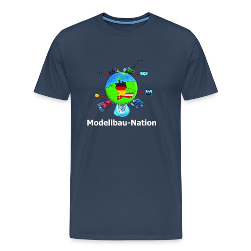 MBN Bunt Weiß - Männer Premium T-Shirt