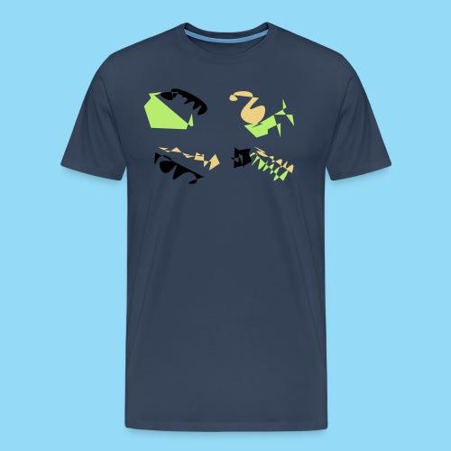 Abstracts & Colours - Men's Premium T-Shirt