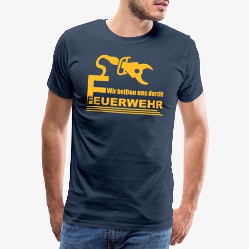 Wir beißen uns durch - Männer Premium T-Shirt