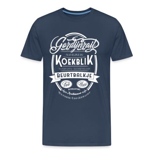 Koekblik - Mannen Premium T-shirt