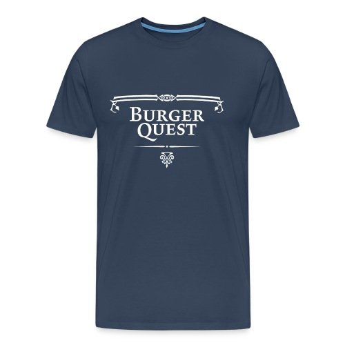 Burgerquest Logo pixel - Mannen Premium T-shirt