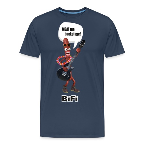 BiFi Gitarrist auf Dunkel - Men's Premium T-Shirt