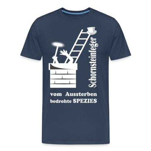 schornsteinfeger Kaminfeger sterben aus - Männer Premium T-Shirt