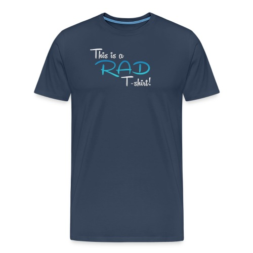 This Is A Rad T-Shirt - Blue - Men's Premium T-Shirt