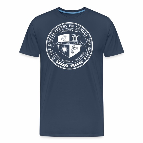 Blason école interprètes LSF - T-shirt Premium Homme