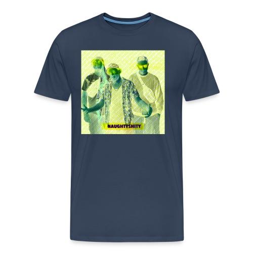 Naughtyshity yellow - Männer Premium T-Shirt