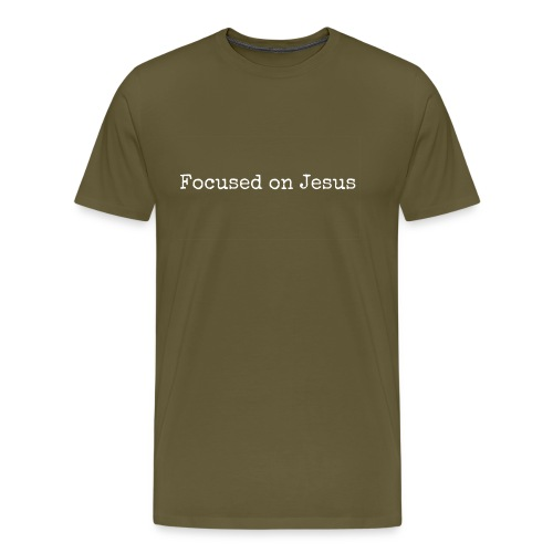 Focus on Jeusus - Männer Premium T-Shirt