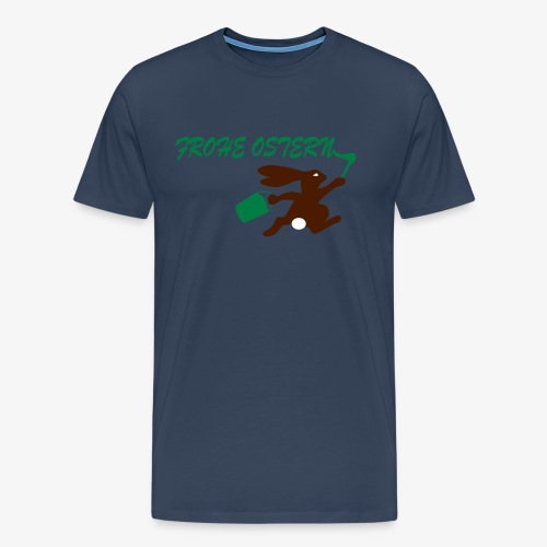 Frohe Ostern Bunny - Männer Premium T-Shirt