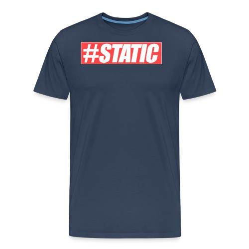 Static Red Brand png - Männer Premium T-Shirt