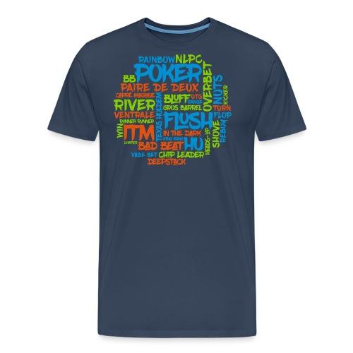 Poker - T-shirt Premium Homme