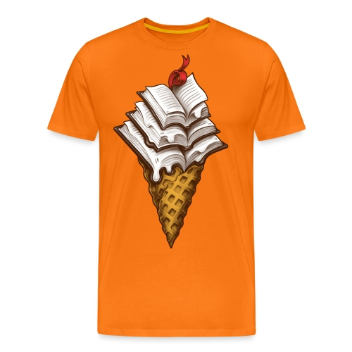 Ice Cream Books - Men's Premium T-Shirt