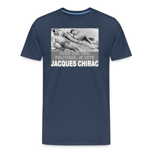 Jacques Chirac - T-shirt Premium Homme