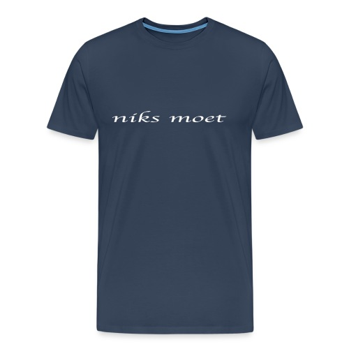 Niks Moet Single - Mannen Premium T-shirt