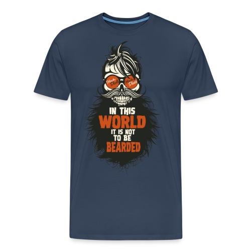 tete de mort citation hipster skull crane humour w - T-shirt Premium Homme