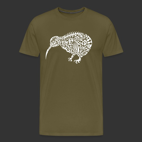 Kiwi Maori - Männer Premium T-Shirt