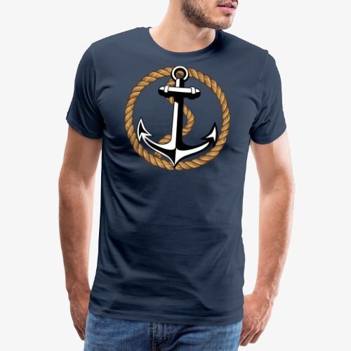 Anker Seil 65 - Männer Premium T-Shirt