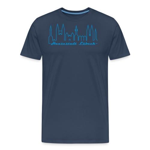 luebeck hansestadt - Männer Premium T-Shirt