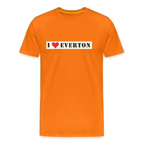 love everton - Men's Premium T-Shirt